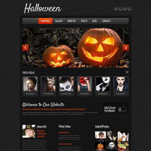 Halloween Responsive WordPress Theme