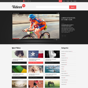 Video Lab Responsive WordPress Theme
