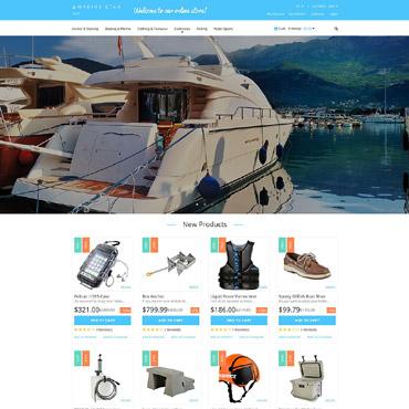 Yachting Responsive Magento Theme
