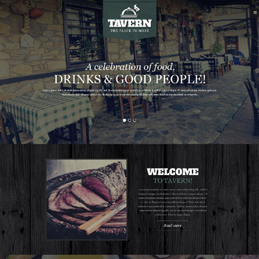 Tapas Restaurant Responsive Website Template