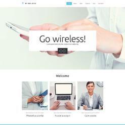 Internet Responsive Website Template
