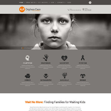 Child Charity Responsive WordPress Theme