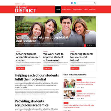 Education Responsive Joomla Template