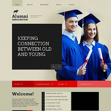 Education Moto CMS HTML Template