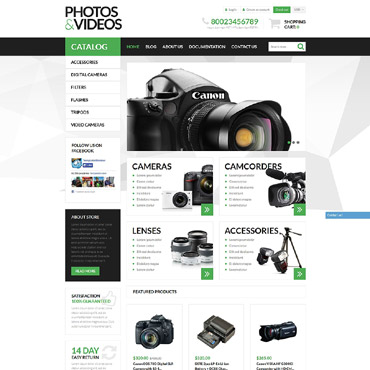 Video Store Responsive Shopify Theme