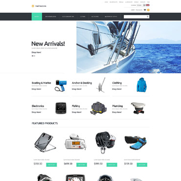 Yachting ZenCart Template