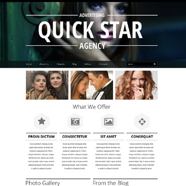 Advertising Agency Responsive Drupal Template
