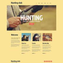 Hunting Responsive Joomla Template