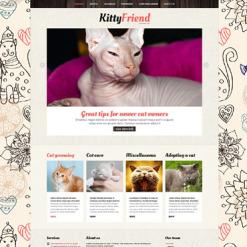 Cat Responsive Joomla Template