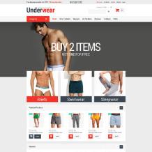 Men's Underwear ZenCart Template