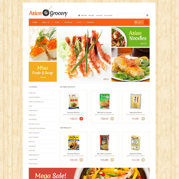 Grocery Store Responsive WooCommerce Theme