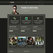 Military Responsive WordPress Theme