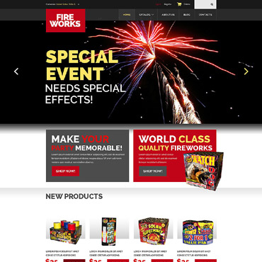 Entertainmnet Responsive VirtueMart Template