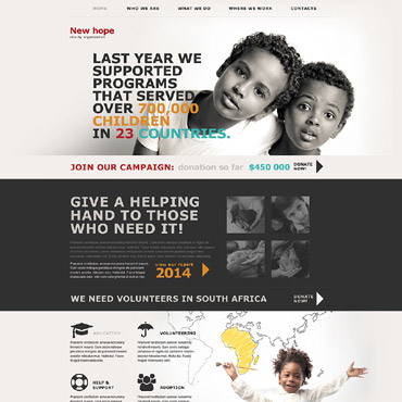 Charity Muse Template