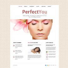 Beauty Salon Responsive Website Template