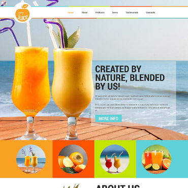 Food & Drink Responsive Joomla Template