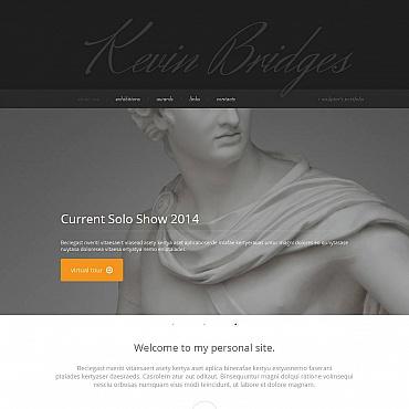 Sculpture Moto CMS HTML Template