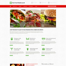 Fast Food Restaurant Responsive WordPress Theme