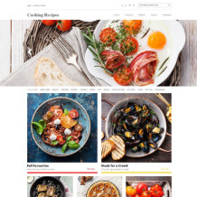 Cooking Responsive Website Template