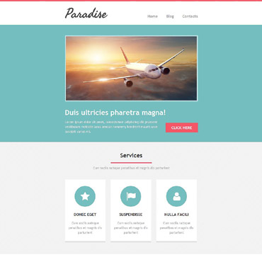 Travel Agency Responsive Newsletter Template