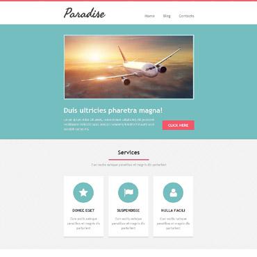 Travel Agency Newsletter Template