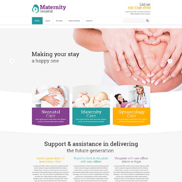 Women's Consulting Website Template #52736