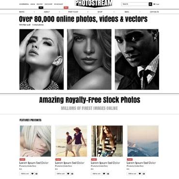 Stock Photo Responsive WooCommerce Theme