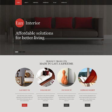 Furniture Muse Template
