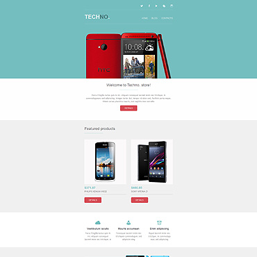 Mobile Store Newsletter Template
