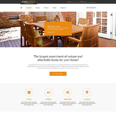 Interior & Furniture Muse Template