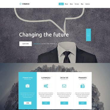 Profitable Business Website Template #53024