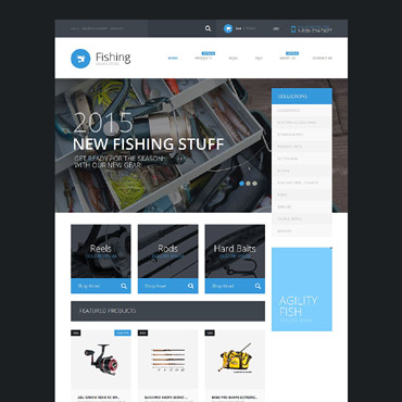 Fishing Responsive Shopify Theme