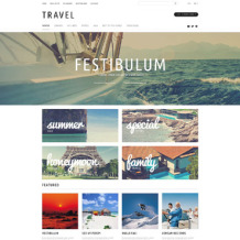 Travel Agency Responsive OpenCart Template