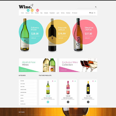 Wine Responsive WooCommerce Theme