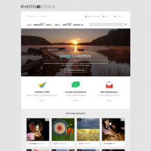 Stock Photo Responsive Shopify Theme
