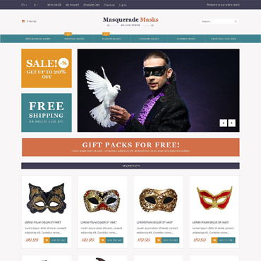 Entertainmnet Responsive Magento Theme