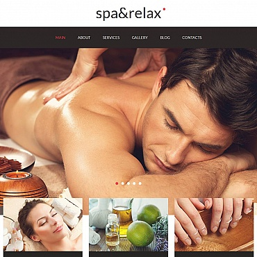 Spa Accessories Moto CMS HTML Template