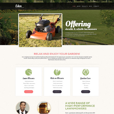 Landscape Design Tools Drupal Template #53244