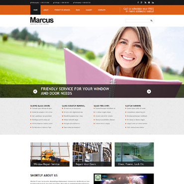 Windows & Doors Responsive Joomla Template