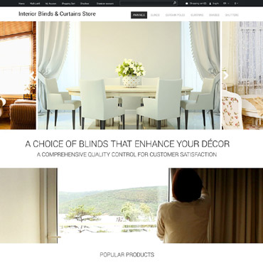 Interior Design Responsive OpenCart Template