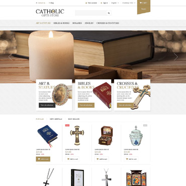 Catholic Church Responsive PrestaShop Theme