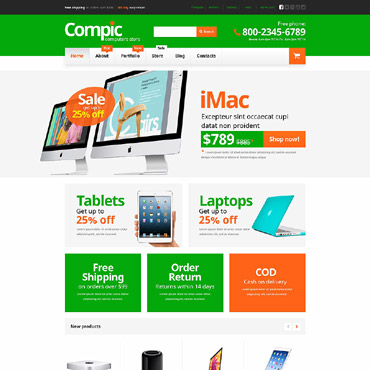 Computer Store Responsive WooCommerce Theme