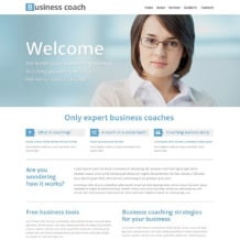 Business School Responsive Website Template
