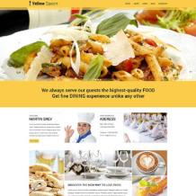 Cafe and Restaurant Responsive WordPress Theme