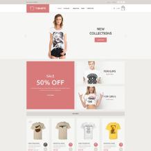 T-shirt Shop Responsive VirtueMart Template