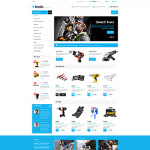 Tools & Equipment Responsive VirtueMart Template