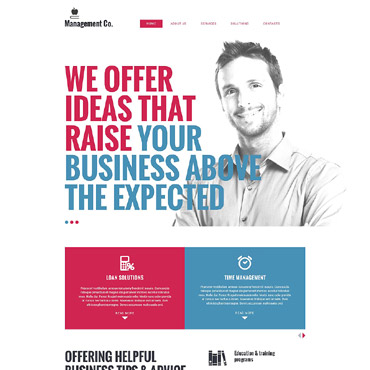 Business School Responsive Drupal Template