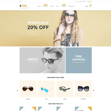 Eye Glasses Responsive Shopify Theme