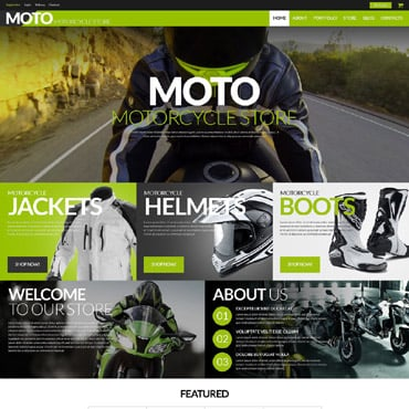 Bike Shop Responsive WooCommerce Theme