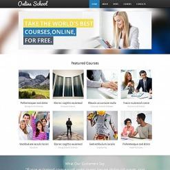 Education Moto CMS HTML Template